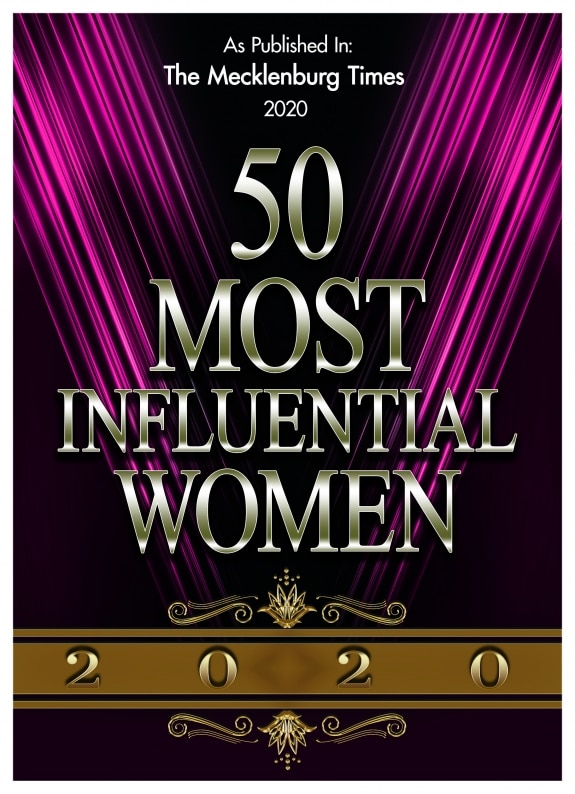 50 Most Influential Women Logo